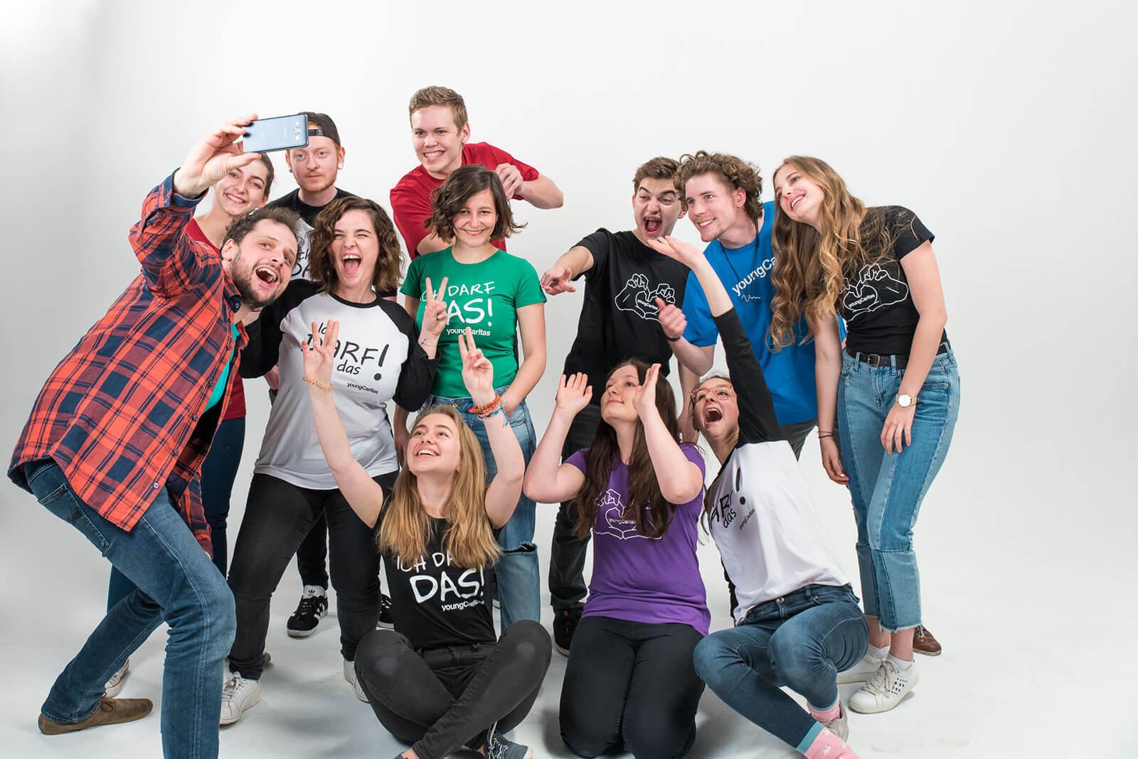 Das Team von youngCaritas Wien